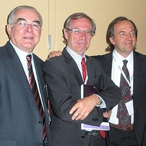 Miguel Padilha, George Baikoff (França), Roberto Zaldivar (Argentina)