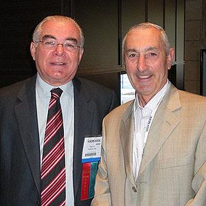 Miguel Padilha e Patrick Condon
