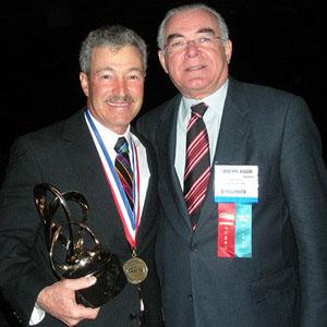 Robert Osher (C.Kelman Innovator's Lecture 2009) e Miguel Padilha