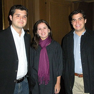 Otávio e Marcela Padilha, Henrique Padilha.