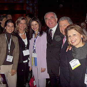 Drs. Ana Carolina Vieira, Ana Hoffling (Unifesp), Liliane Werner (Utah University), Steven Obstbaum (New York), Regina Padilha (PUC-Rio).